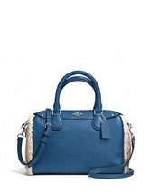 Coach Mini Bennett Satchel In Shearling And Leather NWT - $179.00