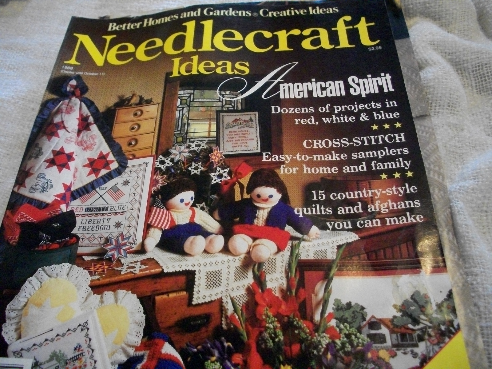 Better Homes and Gardens Needlecraft Ideas 1988 Magazine - $5.00