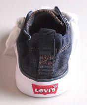 Nuevo Levi's Denim Azul Niña Stan G Zapatillas de Lona Gimnasio en Caja 1091100 image 6