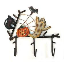 SSSarna Metal Ghost and Pumpkin Hook 6 x 8 inches - $19.80