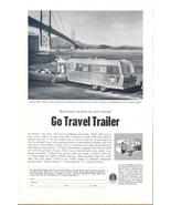 1966 Travel Trailer Golden Gate Bridge print ad - $10.00