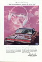 1966 Ford Thunderbird Town Landau print ad - $10.00