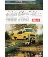 1974 GMC Yellow Motor Home Front-Wheel Drive print ad - $10.00