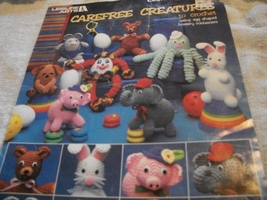 Carefree Creatures To Crochet - $5.00