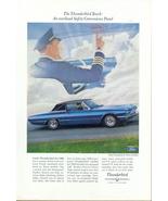 1966 Thunderbird Town Landau driver artistic print ad - $10.00