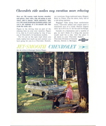 1962 Chevrolet Bel Air 4 door 6 passenger Wagon print ad - $10.00