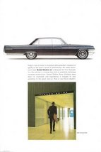 1963 GM Buick Electra 225 sideview vintage print ad - $10.00