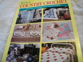 McCall's Country Crochet Volume 7 - $18.00