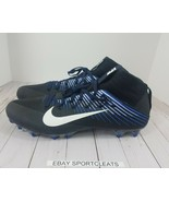 Nike Vapor Untouchable 2 Blue/Black Football Cleat Size 16 (835646-014) - $23.26