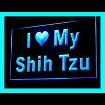 210123B I Love My Shih Tzu Extreme Reasonable Playful Personality LED Li... - $18.00