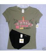 New CALVIN KLEIN sz S Sleep Tee Shirt black Bikini Panties Small - $14.00