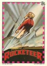 1991 Topps The Rocketeer Stickers - Pick / Choose Your Cards - $0.99