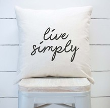 Throw Pillow-Live Simply-Home Decor - $17.99