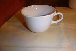 """Corelle Solid White Coffee Cup Livingware by Corning #28 3.75"""" Diameter ... - $3.99"""
