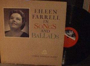 Eileen Farrell - In Songs and Ballads - Angel Records 35608