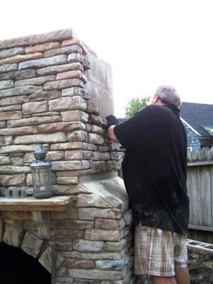 DIY SUPPLY KIT w/40 LEDGESTONE MOLDS TO CRAFT 1000s OF STONES FOR PENNIES EACH.