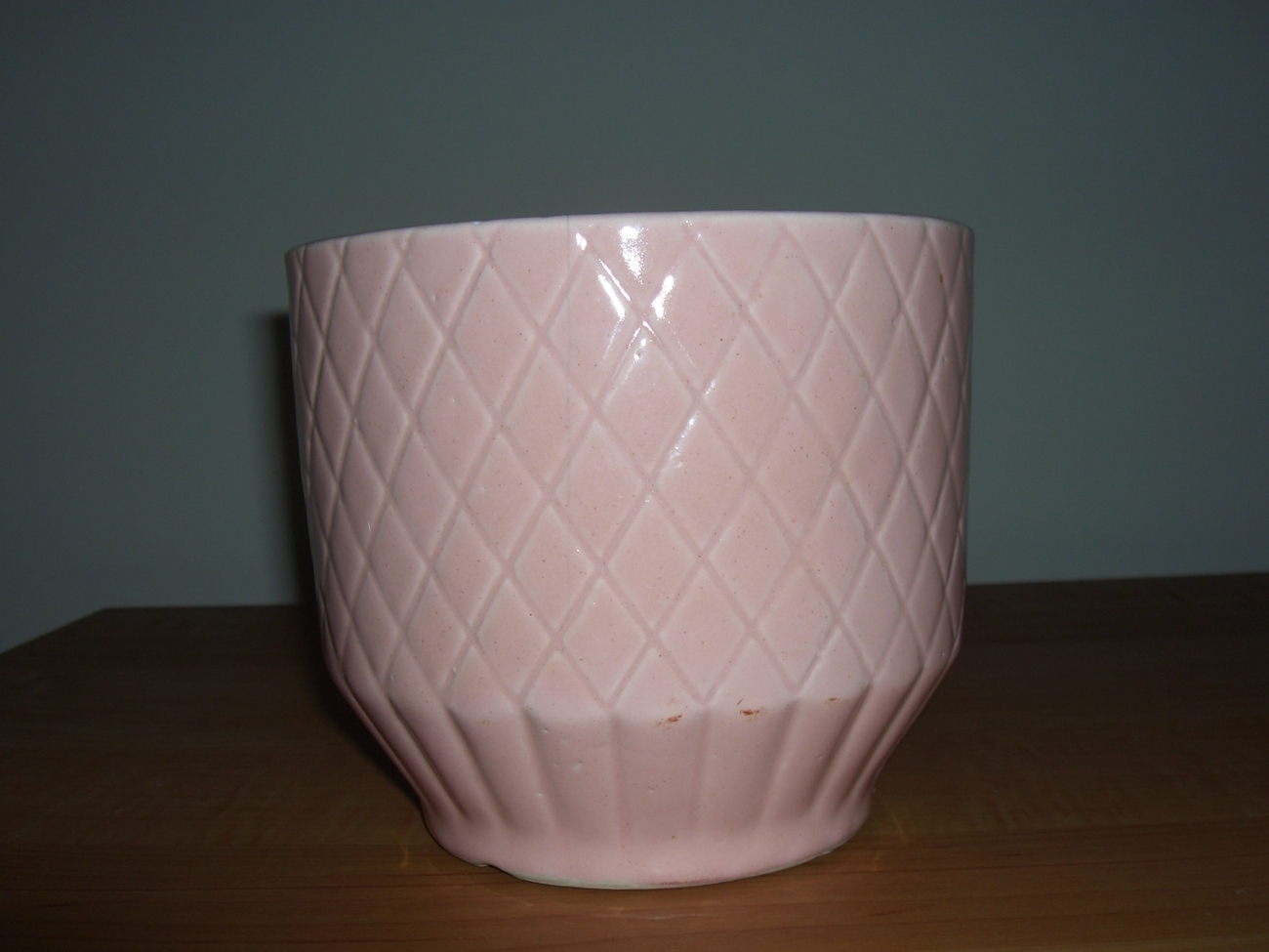 Shawnee Pink Flower Pot