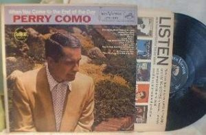Perry Como - When You Come to the End of the Day - RCA Victor LPM-1885