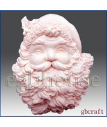 2D Silicone Soap Mold - Santa Plaque - Free Shipping - $33.00