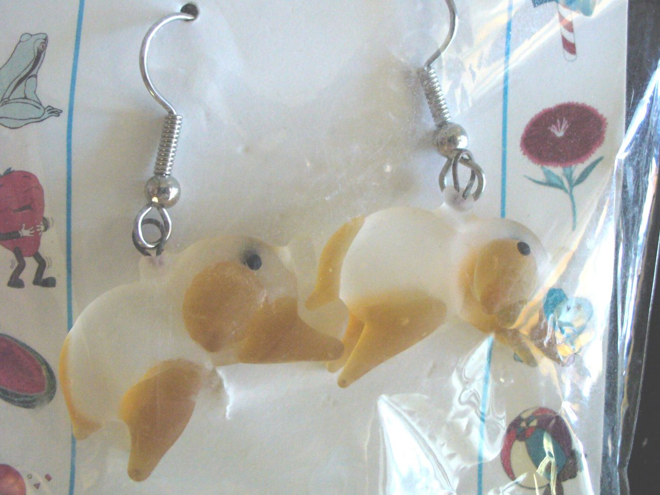 Global Villiage Glass Koala Bear Earrings
