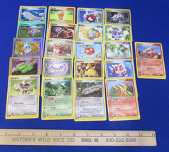 Pokemon Card Game Trading Cards Deck 109 Electrike Mudkip  Mixed Lot Lot... - $10.88