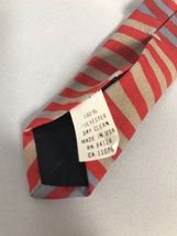 Ralph Marlin History of American Flags Patriotic 4th of July Neck Tie 1998 USA image 5