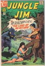 Jungle Jim Comic Book #23, Charlton Comics 1969 VERY FINE- - $13.54