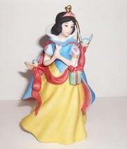 Disney Snow White Princess Grolier 2009 Porcelain Ornament Dated Annual - $30.00