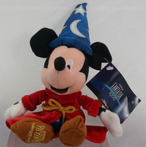 Walt Disney Fantasia 2000 Sorcerer Mickey Mouse Plush Toy - $19.80
