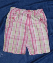 Ready Set Grow Toddler Girls Plaid Shorts Size: 4T