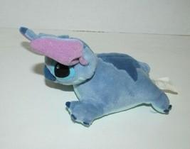 The Disney Store beanbag plush mega bean Stitch from Lilo & Stitch mini ... - $14.84