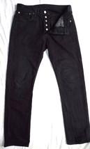 Men's Black Levi 501 Jeans W 32 L 34 Excellent - $27.59