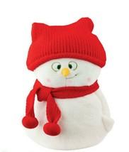 "BOYDS PLUSH BEAR- SNOWPINIONS - TOTALLY INNOCENT - SNOWMAN 10""  - $30.00"