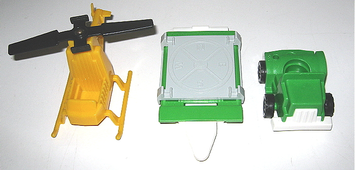 Vintage 1981 Fisher Price Copter Rig #344 - Complete