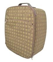 Auth CHANEL Roller bag Khaki Matelasse New Travel Zipper Multi pockets B... - $821.70