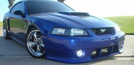 Blue Halo Fog Lamps Driving Lights for 1999-2004 Ford Mustang Roush Body... - $99.77