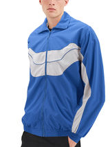 Men's Casual Running Working Out Jogging Gym Fitness Zipper Track Jacket image 9