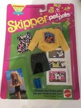 Barbie Skipper doll Pet pals outfit new in box NIB Mattel - $12.95