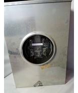 Lands & Gyr Mounting Meter In Type 3R Metal Enclosure Box Electric - $104.59