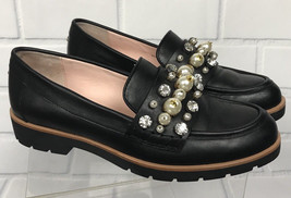 Kate Spade Karry Leather Embellishments Loafers Women Sz 7 -Missing Few ... - $69.99