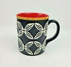 Starbucks Hawaiian Embossed Tiki Flower Coffee Mug New Bone China 16 oz ... - $14.99