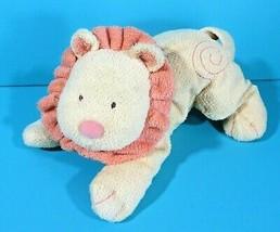 "Carters Child Of Mine Lion Yellow Orange Swirls 12"" Bean Bag Plush Floppy Lovey - $19.95"