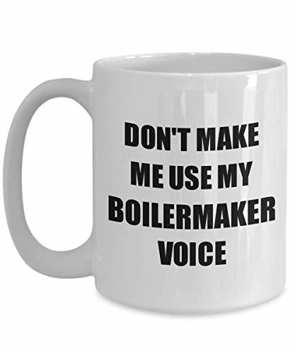 Primary image for Boilermaker Mug Coworker Gift Idea Funny Gag for Job Coffee Tea Cup 15 oz