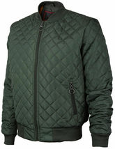 Men's Lightweight Ring Zipper Quilted Water Resistant Slim Bomber Jacket JASON image 9