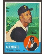 ROBERTO CLEMENTE Card RP #540 Pirates 1963 T Free Shipping - $3.00