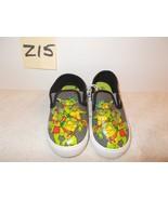 Boys Ninja Turtle Slip- On Canvas Shoes Size 9 New - $12.99