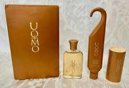 Avon UOMO After Shave Lotion Hair Body Shampoo and Deodorant Body Talc G... - $44.99