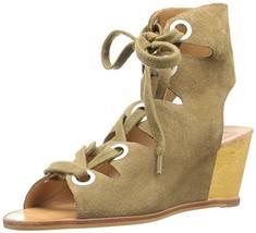Dolce Vita Women's Lei Wedge Sandal, Olive, 10 M US - $48.81