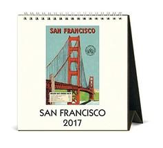 Cavallini 2017 San Francisco Desk Calendar - $15.95