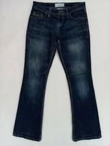 Maurices Womens Denim Jeans Color Blue Size 1/2 Regular w/measurements 2... - $17.05